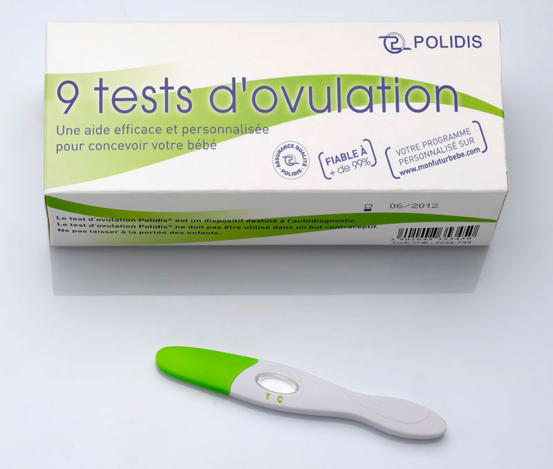 Photo du test d'ovulation