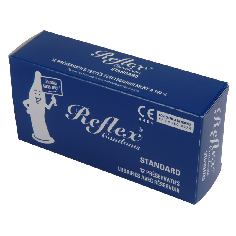 reflex condoms standard