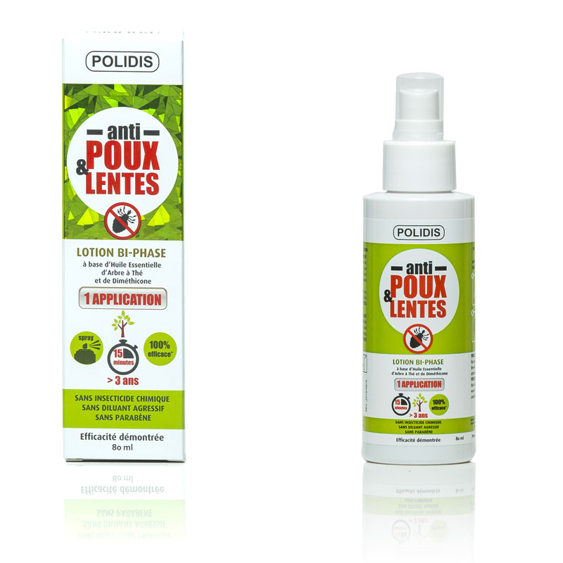 Spray de lotion anti-poux Polidis