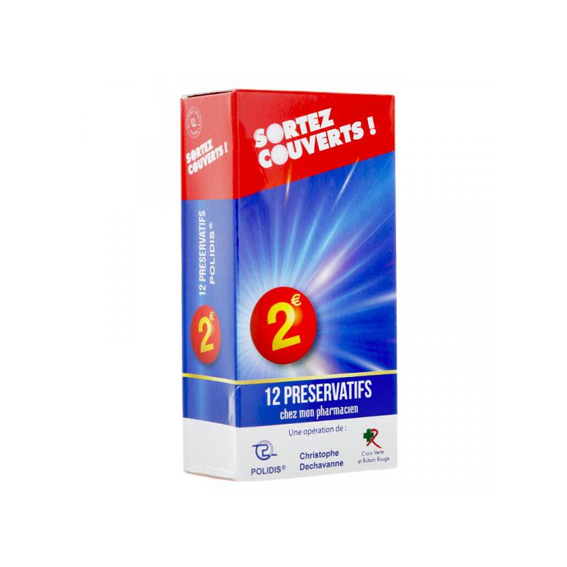 Boite de 12 préservatifs Sortez couverts Polidis
